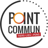 Logo du tiers-lieu Point Commun